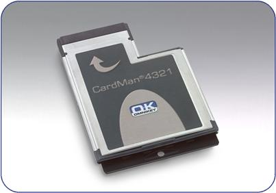 Picture of Cardman Mobile 4321 Express Card CAC reader